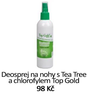 Deo sprej na nohy - Tea Tree, chlorofyl