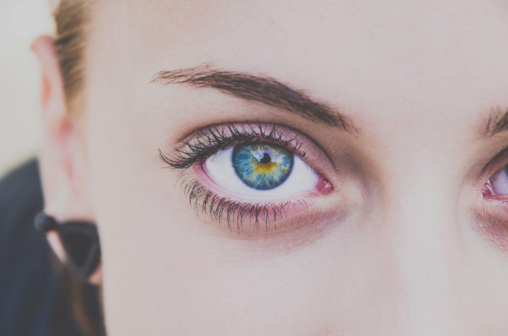 Krásné oči, řasy a obočí