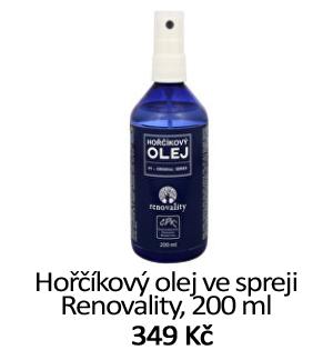 Horčíkový olej Renovality