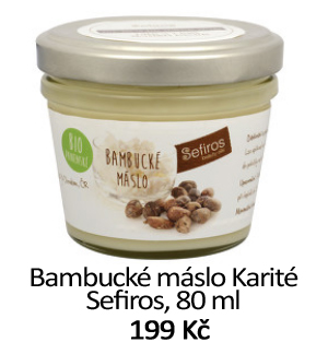 Bambucké máslo Karité