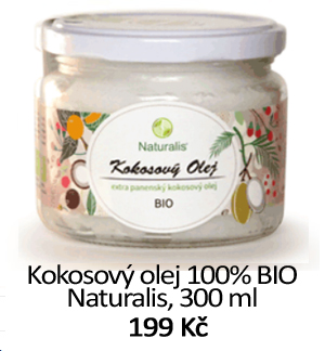 Kokosový olej Naturalis