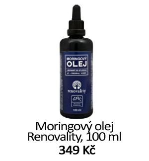 Moringový olej Renovality