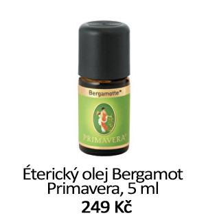 Éterický olej Bergamot Primavera