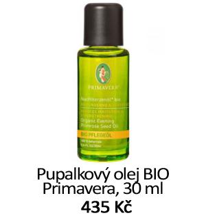Pupalkový olej Primavera