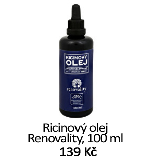 Ricinový olej Renovality koupit